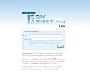 Term-target : calcul de densité de mots-clés
