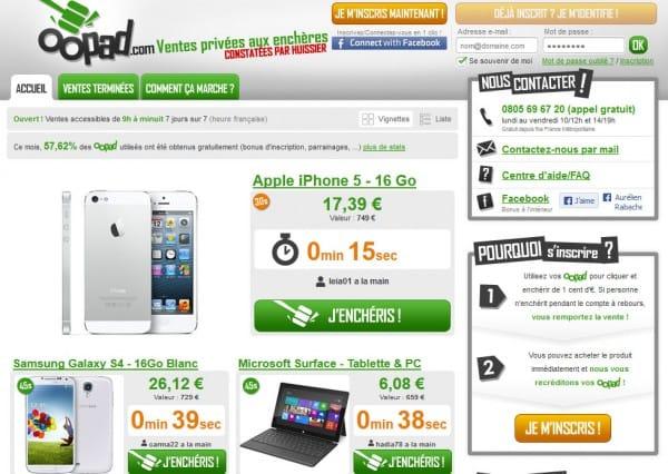 Oopad, les dérives du webmarketing avec des enchères