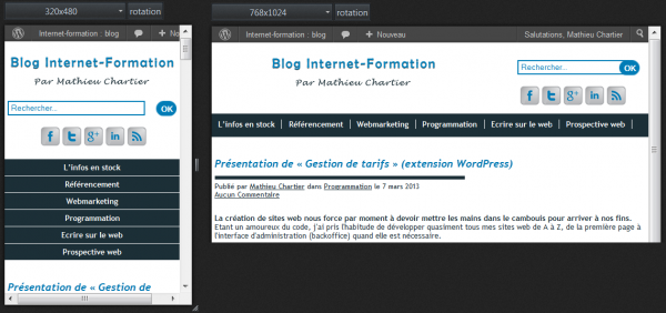Internet-Formation - Responsive web design - Méthode de Mathieu Chartier