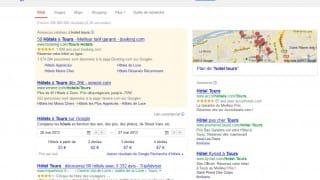 Google Hotel Finder premier résultat naturel dans les SERP