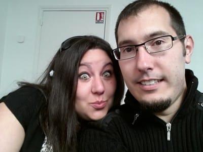 Alexandra Martin et Mathieu Chartier au Web Camp Day à Angers