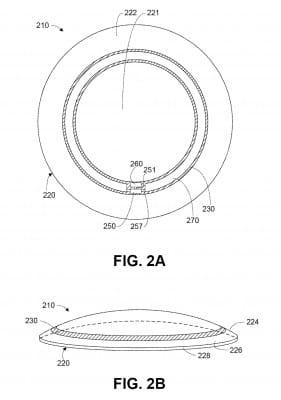 Lentilles avec antenne chez Google