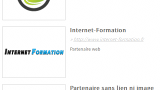 Créer une page Partenaires WordPress sans plugin