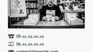 Widget de contact (code) sur WordPress