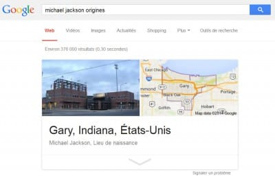 Knowledge Graph Google origines