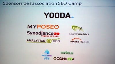 Sponsors association SEO Camp