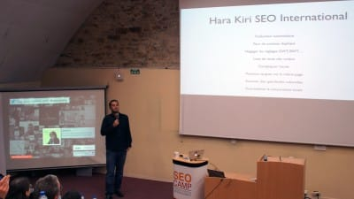 Laurent Bourrelly au SEO Camp Day de Nantes 2014