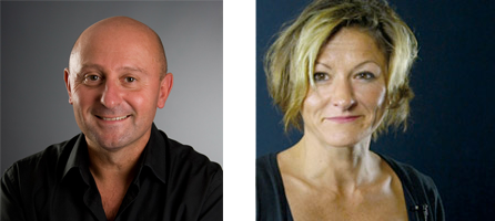Olivier Andrieu et Isabelle Canivet - experts SEO