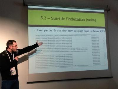 Mathieu Chartier : conférence au SEO campus de Paris 2015 sur le code orienté serveur en SEO