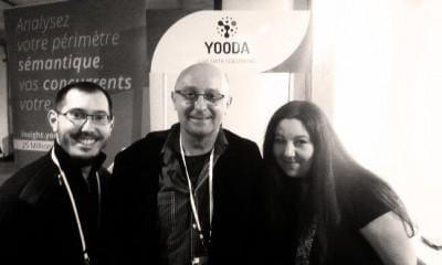 Mathieu Chartier, Olivier Andrieu et Alexandra Martin