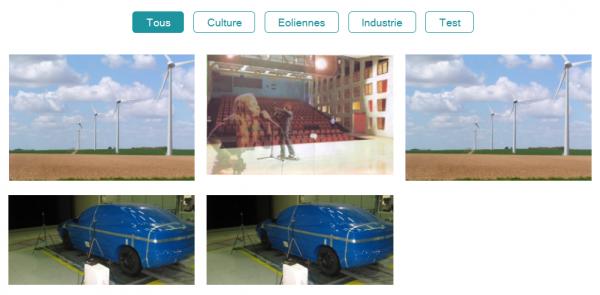 Modal Portfolio : plugin WordPress de galeries d'images avec description et filtres