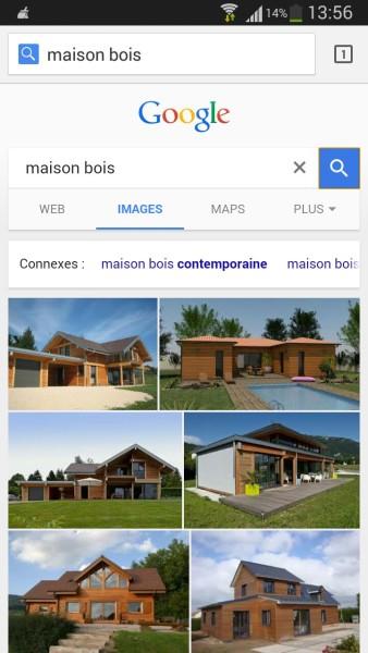 Recherches connexes sur Google Images sur mobile