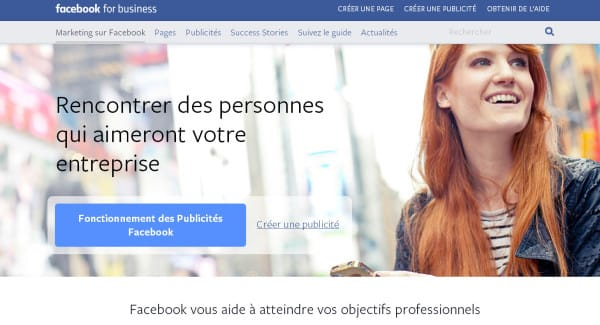 Facebook for business (Facebook Ads) - France