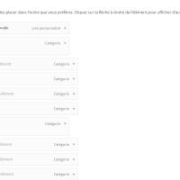Menu complet dans l'admin WordPress avec suppression des pages et catégories vides