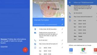Présentation des nouveautés de l'application mobile Google My Business