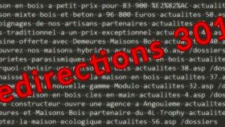 Conserver les redirections 301 dans Google