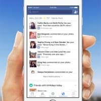 Nouvel onglet de notifications dans les applications iOS et Android de Facebook