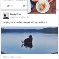 Regarder une vidéo Facebook en multitâches