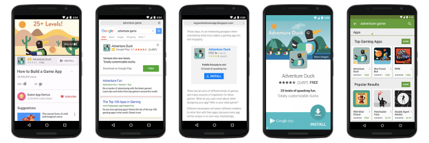 Campagne de promotion des applications mobiles sur Google Adwords