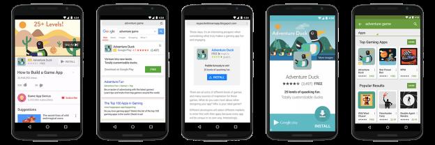 Campagne de promotion des applications mobiles sur Google Adwords