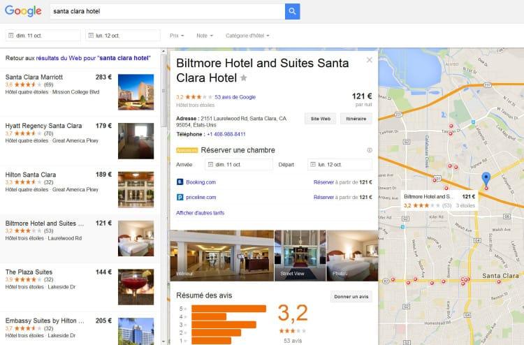 Ajout des bonnes affaires dans Google Hotel Finder
