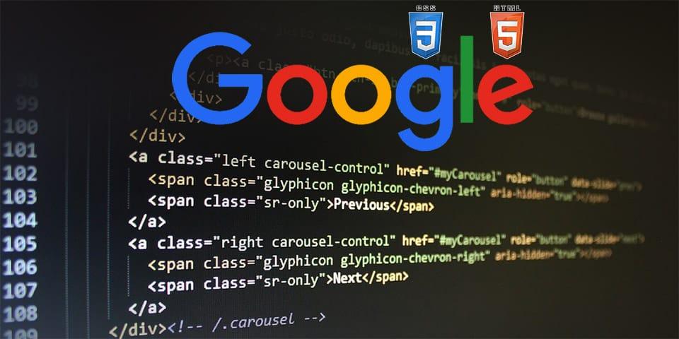 Google, HTML et CSS comme critères de ranking ?