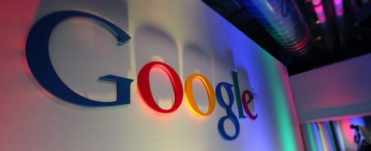 Google, logo dans l'entreprise