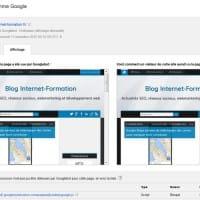 Ressources bloquées affichées dans la Google Search Console avec l'option Explorer et afficher