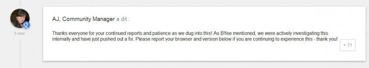 Bug de la recherche Google dans Internet Explorer
