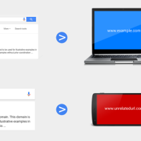 Fausse redirection mobile spammy sur Google