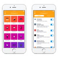 Application Notify de Facebook pour iOS, des notifications personnalisées dans l'écran de verrouillage