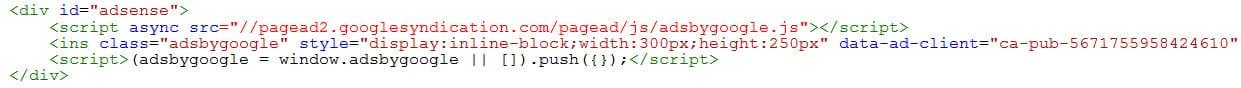 Affichage des ressources bloquées dans la Google Search Console - Code source