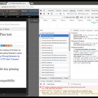 La redirection 307 affichée par Chrome avec HSTS n'est qu'un leurre (redirection interne)