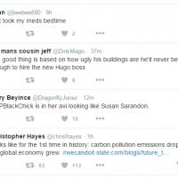 Twitter affiche une timeline sans chronologie inversée