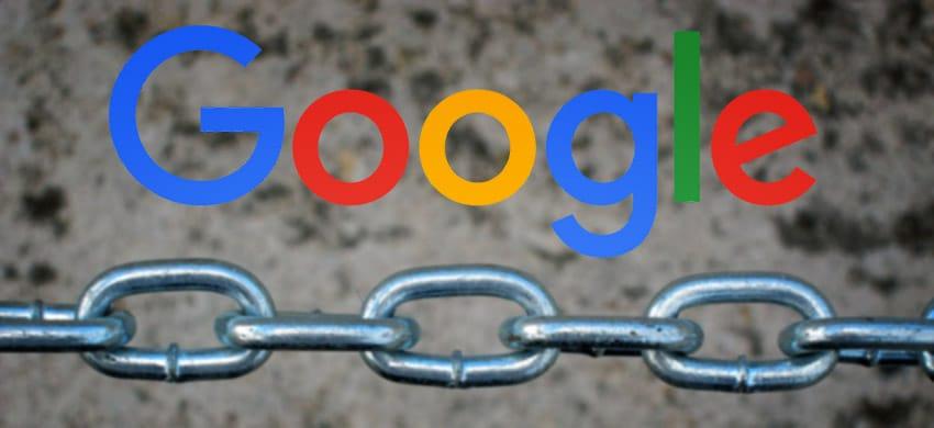 Google étiquette les liens pour les classifier ou les décompter automatiquement
