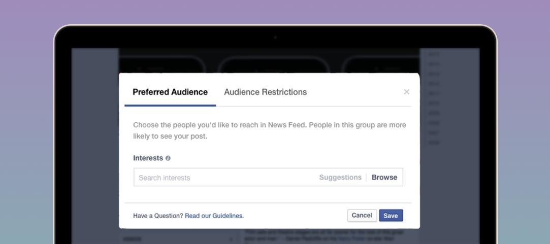 Facebook lance un outil d'optimisation d'audience pour booster la portée des posts