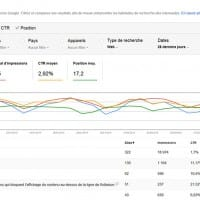 Rapport Analyse de la recherche de la Google Search Console (02/2016)
