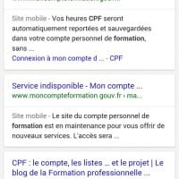 Label site mobile (mobile friendly) dans les SERP mobiles de Google