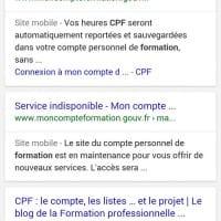 Label site mobile (mobile friendly) dans les SERP mobiles de Google
