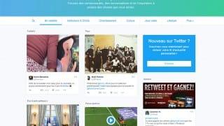 Timeline web de Twitter affichée aux utilisateurs non connectés ni inscrits