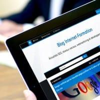 Blog Internet-Formation et Google