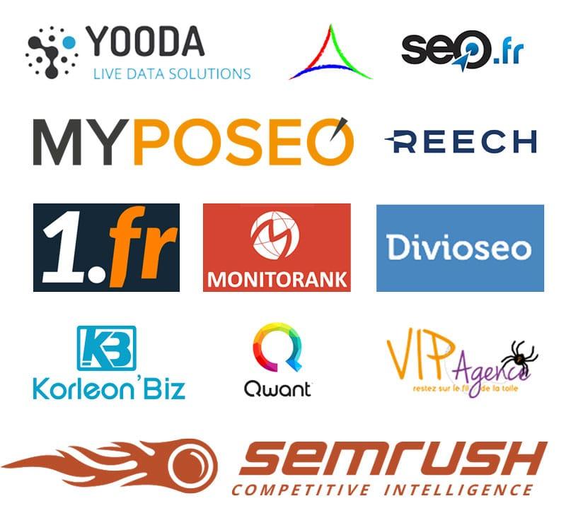 Sponsors et partenaires de l'événement QueDuWeb à Deauville