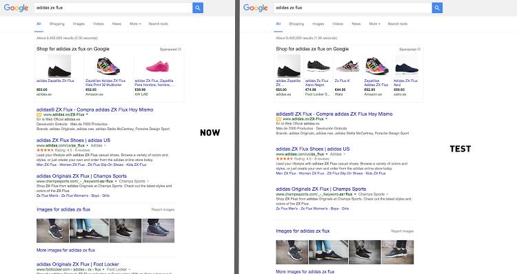 Google rajoute de l'espace entre les SERP