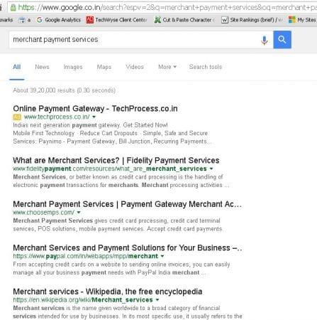 Google teste les liens organiques noirs dans les SERP