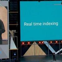 Real time indexing par Google