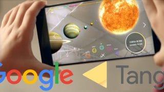 Le projet Google Tango où la naissance de la réalité augmentée