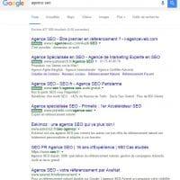Les annonces et liens sponsorisés passent au vert dans les SERP de Google