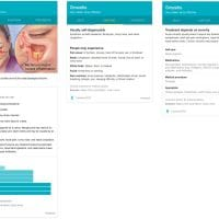 Knowledge Card de santé sur Google après une recherche sur les problèmes de sinusite