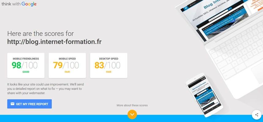 Test d'un site mobile friendly avec le nouvel outil de Google