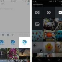 Ajout de boutons live video dans Twitter sur iOS et Android